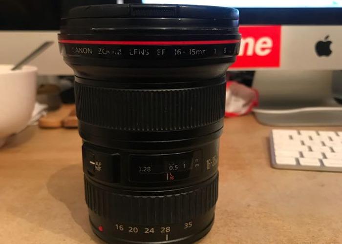 Cannon Lens EF 16-35mm f2.8 L USM, - 1