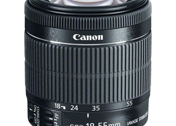 CANON - 18-55mm f/3.5-5.6 (EF Mount) - 1