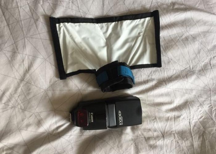 Canon  430 Ex2 flash  - 1