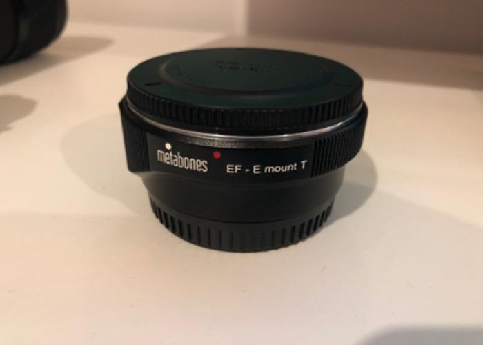 Canon - Sony E-Mount (NEX) Metabones Smart Adapter Mark IV - 1