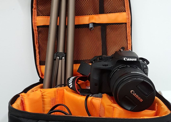 Canon 100D Camera with Tripod (Greenwich, London) - 2