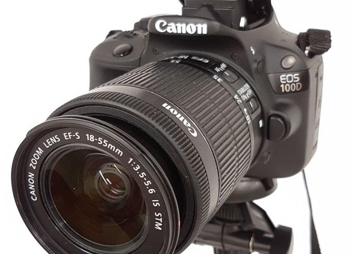 Canon 100D Camera with Tripod (Greenwich, London) - 1