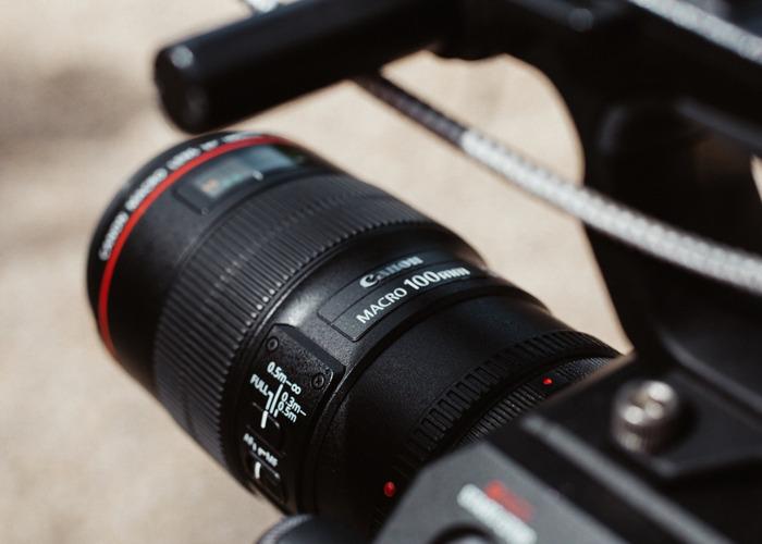 Canon 100m F2.8  Lens  - 1