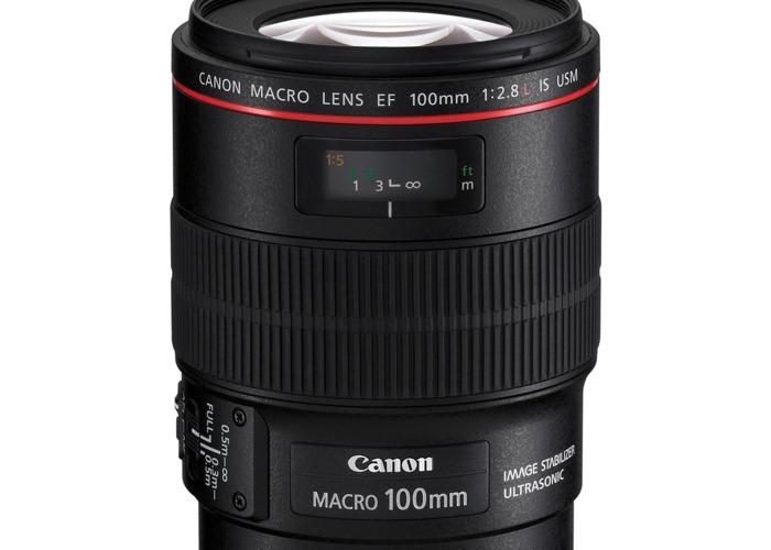 Canon 100m F2.8  Lens  - 2