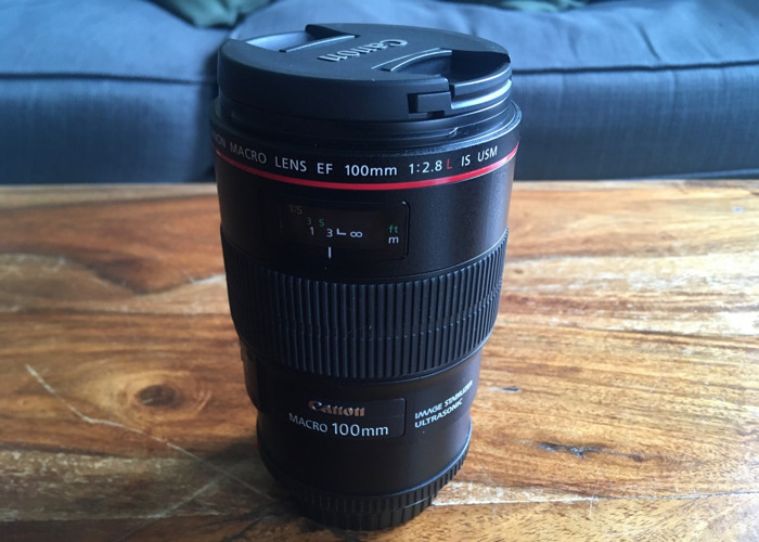 Canon 100mm f2.8 L IS USM - 1