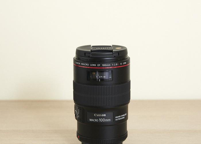 Canon 100mm 2.8 macro lens - 1