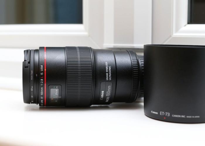 Canon 100mm 2.8 L Macro IS - Latest Version - 2