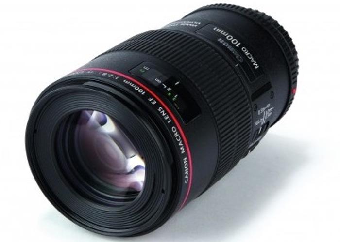 Canon 100mm f2.8 macro IS USM - 1