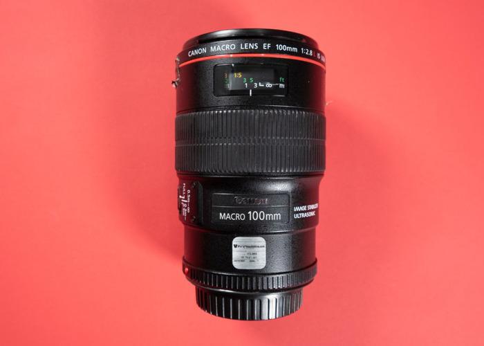 Canon 100mm f2.8 Macro Lens - 1