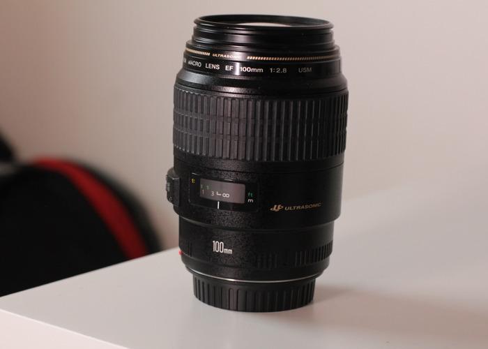 Canon 100mm Macro Lens - 1