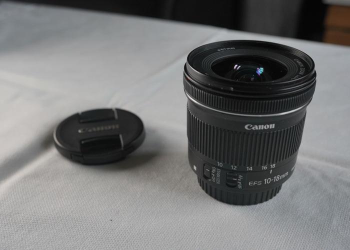 Canon 10-18mm lens - 1