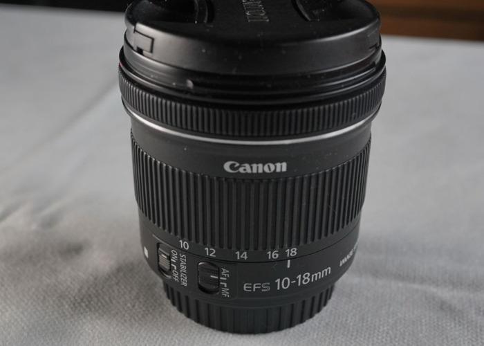 Canon 10-18mm lens - 2