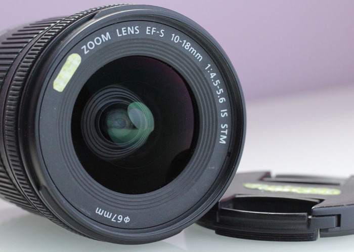 Canon EFS 10-18mm STM IS 4.5-5.6 ultra wide - 2