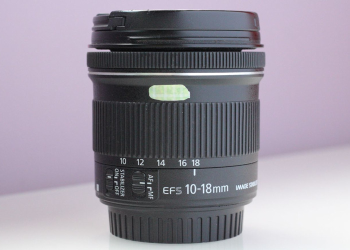 Canon EFS 10-18mm STM IS 4.5-5.6 ultra wide - 1