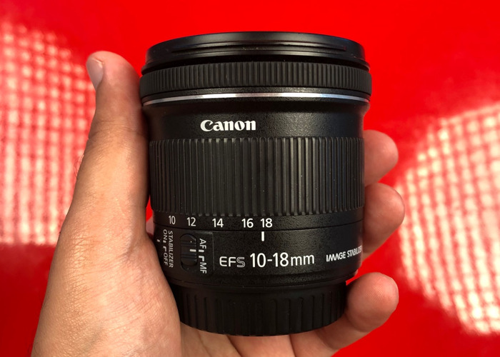Canon 10-18mm f4.5-5.6 IS STM EFS wide angle lens - 2
