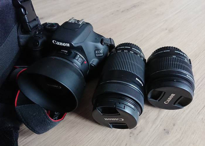 Canon 1200d DSLR Kit - 1