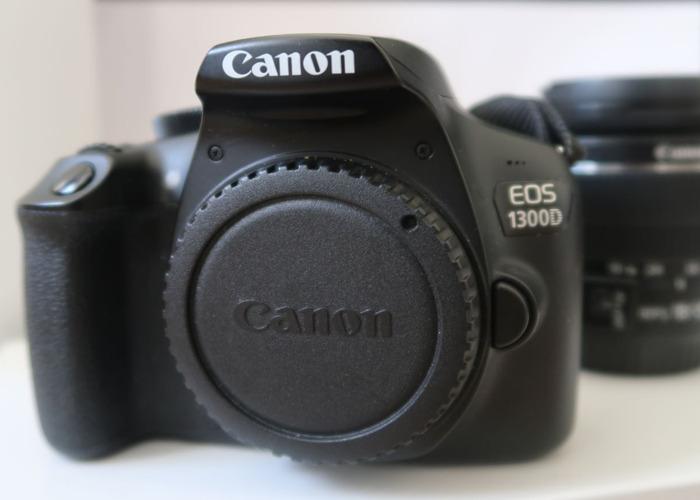 Canon 1300D + 18-55mm Lens -  DSLR Camera plus lens - 1