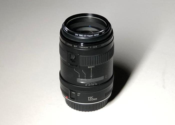 Canon 135 mm f2.8 Portrait lens - 1