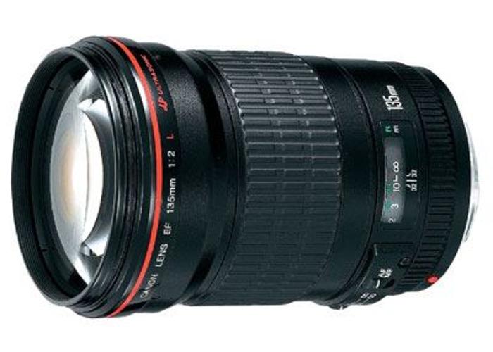 Canon 135mm f2L USM Lens - 1