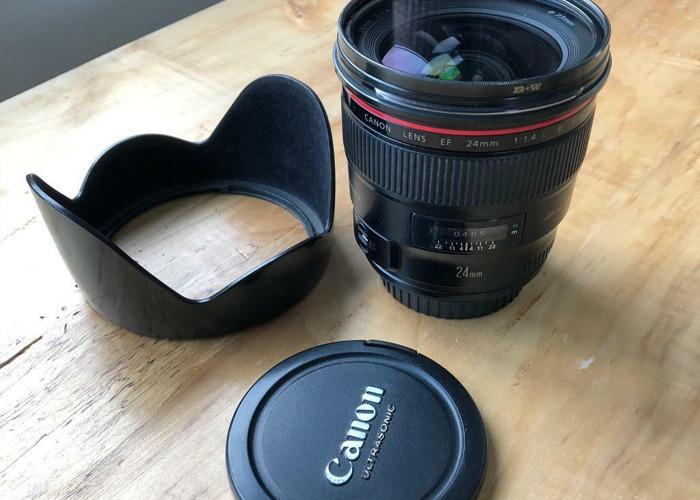 canon 1.4 L lens - 1