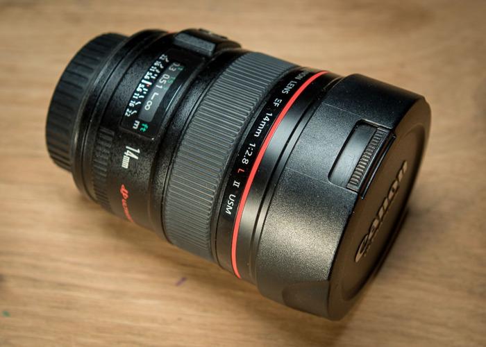 Canon 14mm F2.8 Lens - 1
