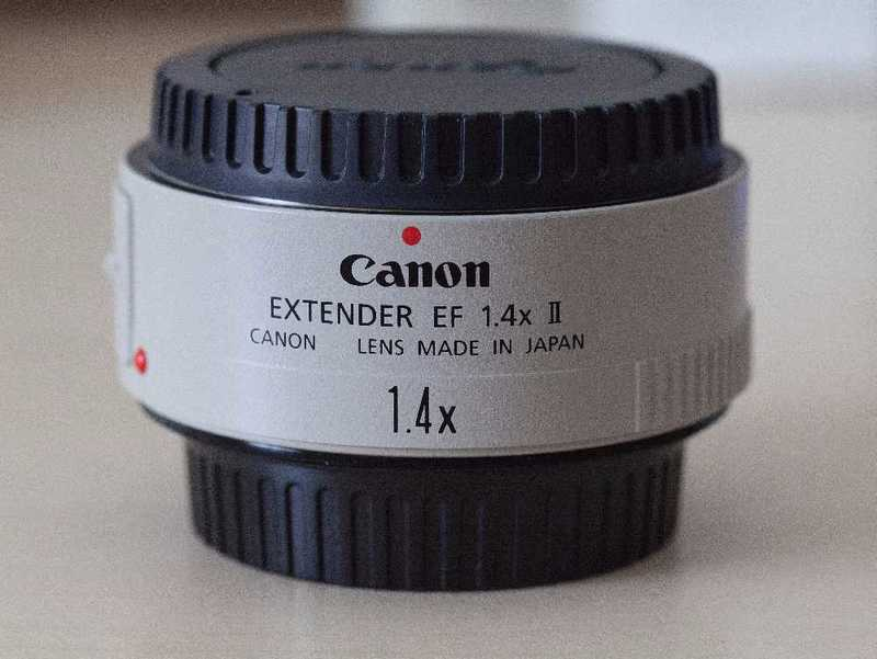 Canon 1.4x MKII Extender Lens - 1