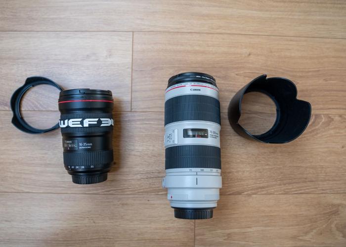 Canon 16-35 F2.8 miii+ 70-200 F2.8 miii - 2