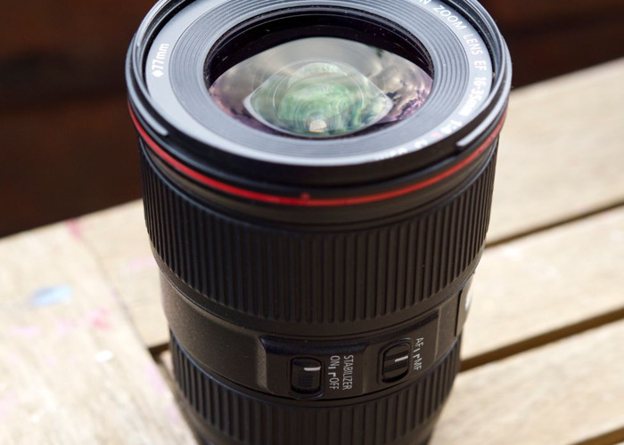 Canon 16-35 Ultrawide L series Lens w/ Image Stabilizer  - 1