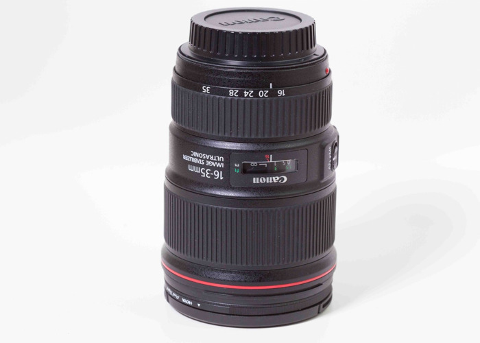 Canon 16-35mm F4 IS L lens - 1