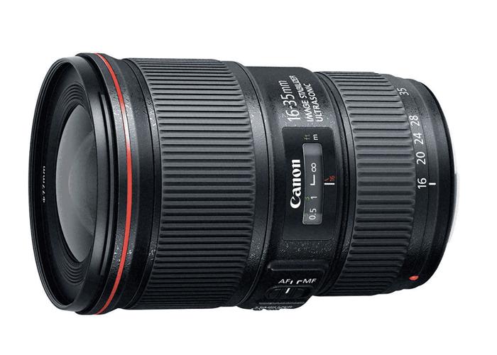 Canon 16-35mm f/4 lens - 1