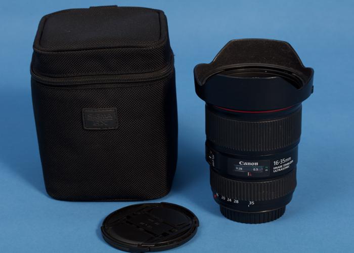 Canon 16-35mm f4 Lens - 1