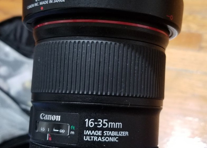 Canon 16-35mm IS F4 - 1