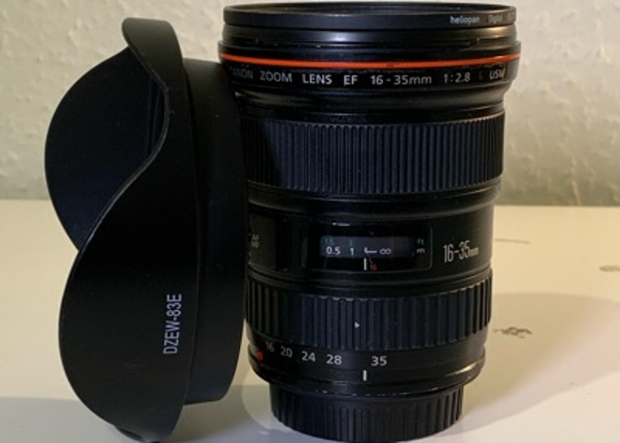 Canon 16-35mm L Series USM - 1