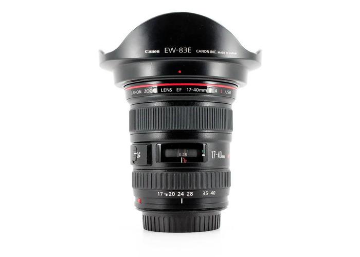 Canon 17-40 F/4 L EF mount Lens - 2