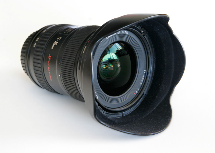 Canon 17-40 F/4 L EF mount Lens - 1