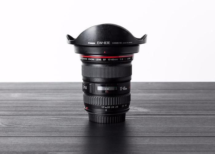 Canon 17-40mm f4 - 1