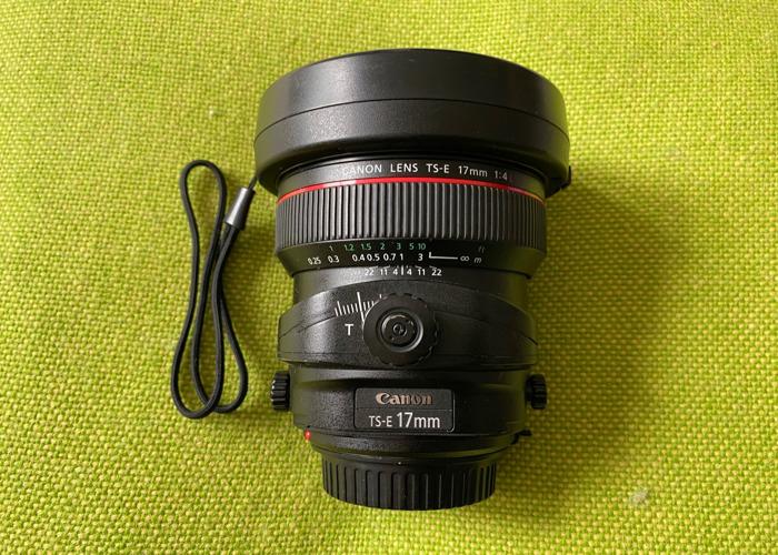 Canon 17mm Tilt-Shift Lens f/4 - 1