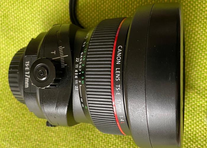 Canon 17mm Tilt-Shift Lens f/4 - 2