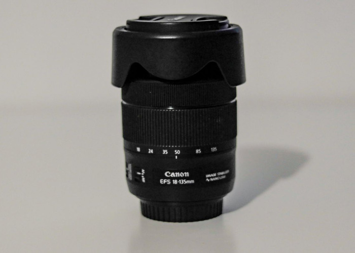 Canon 18-135mm Zoom Lens f/3.5 -5.6 IS - EF-S STM For Hire (Highbury Area) - 1