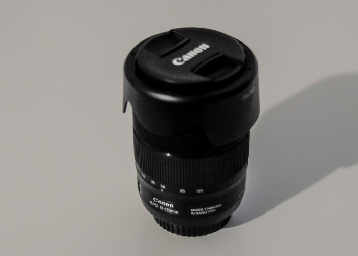 Canon 18-135mm Zoom Lens f/3.5 -5.6 IS - EF-S STM For Hire (Highbury Area) - 2