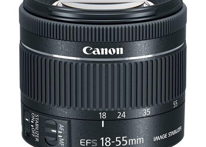Canon 18-55 Lens - 1