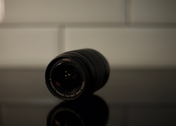 Canon 18-55 mm/F 3.5-5.6 EF-S - 2