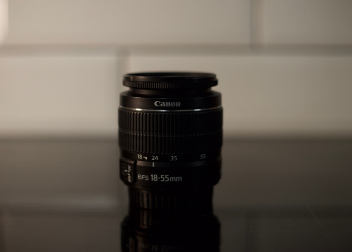 Canon 18-55 mm/F 3.5-5.6 EF-S - 1