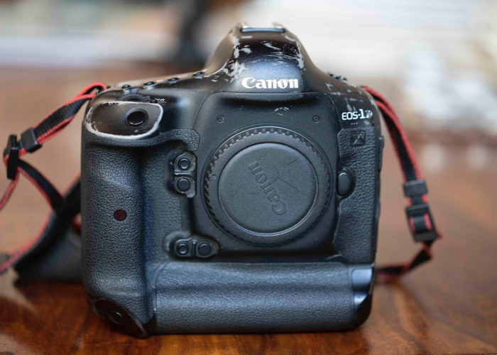 Canon 1dx body, charger and 2 batteries.  - 2