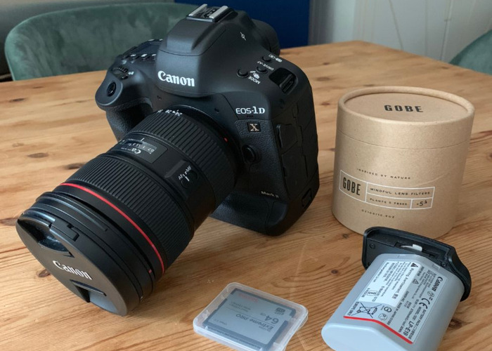 Canon 1DX mk2 with 24-70mm Lens EF lens 2.8 - 1