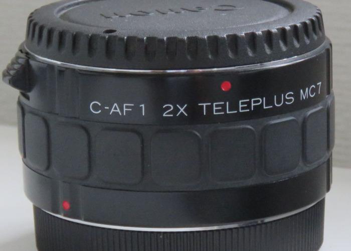 Canon 2 x convertor C-AF1 Teleplus MC 7 - 1