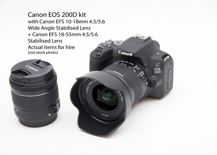 Canon 200D Kit - 1