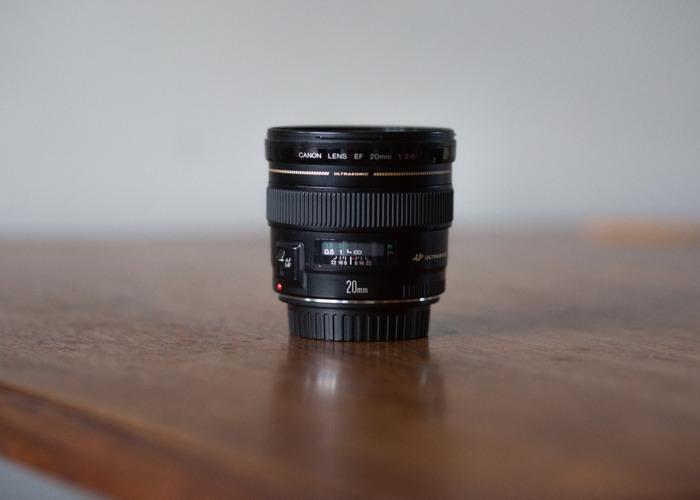 Canon 20mm f/2.8 USM Lens  - 1