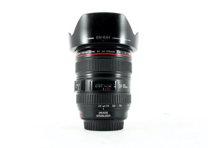 Canon 24-105 mm F4 IS USM (full frame) zoom lens + lens hood (1st) - 2
