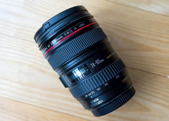 Canon 24-105 mm F/4 L IS USM Lens - 1